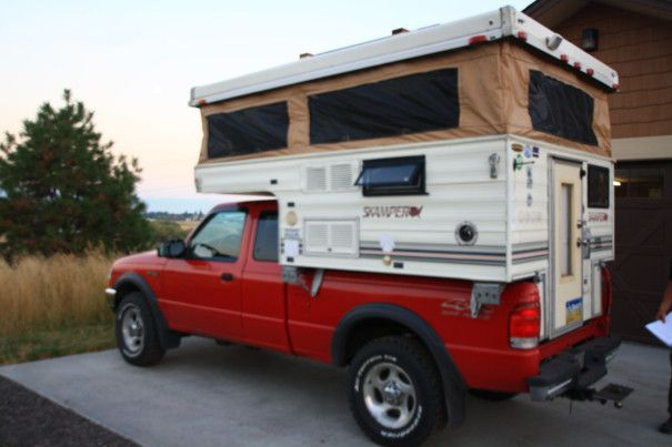 Truck And Camper Modification Slide In Truck Campers Pop Up