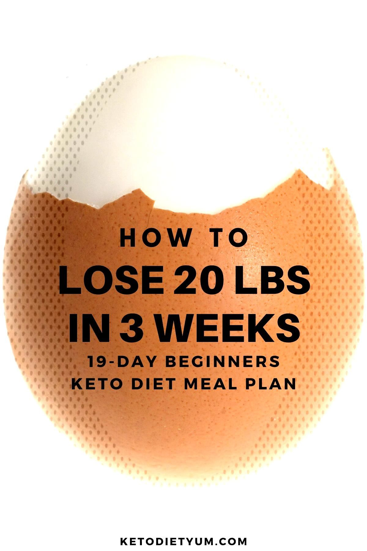 Lose 20 pounds in 3 weeks with the 19-day keto diet menu and meal plan. Our beginners keto diet pla