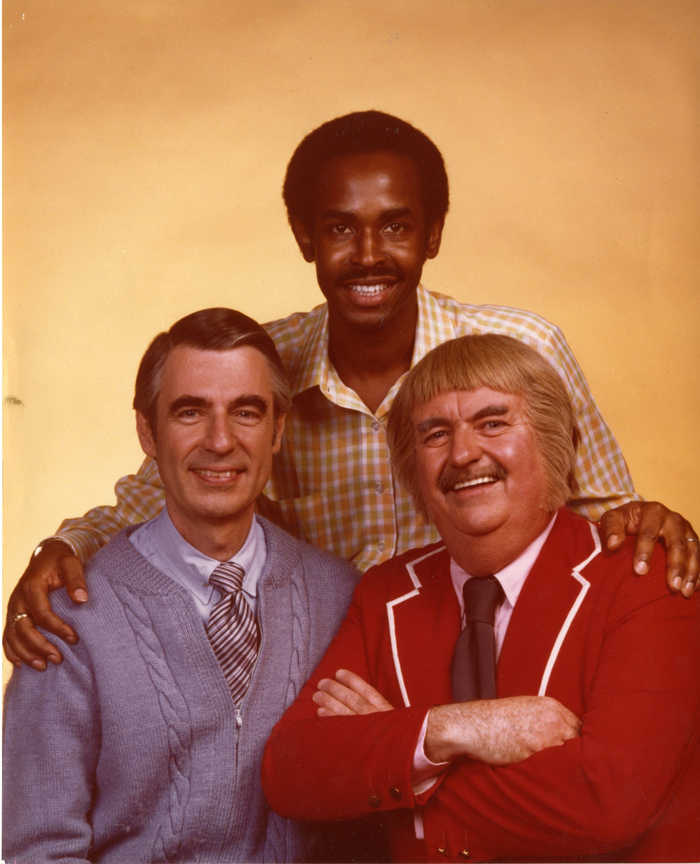Francois Clemmons W Mr Rogers Mister Rogers Neighborhood Captain Kangaroo Mr Rogers