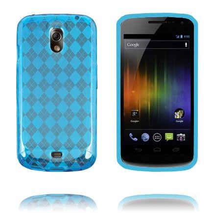 Tuxedo (Sininen) Samsung Galaxy Nexus Silikonisuojus