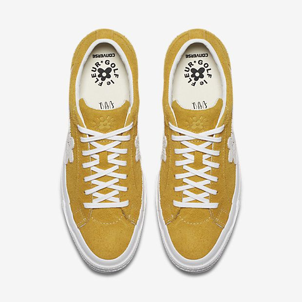 Tyler the Creator Converse Golf Le Fleur* One Star in Yellow