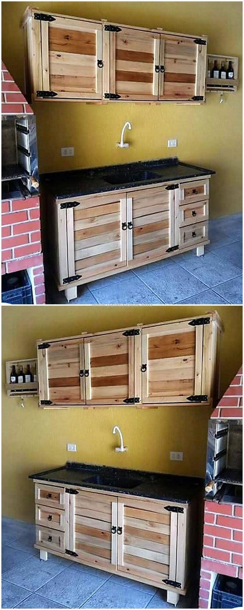 Awesome wood pallet repurposing and reusing ideas with
