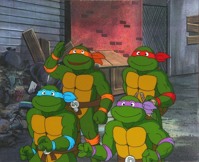 Resultado de imagen para Las Tortugas Ninja (1987)