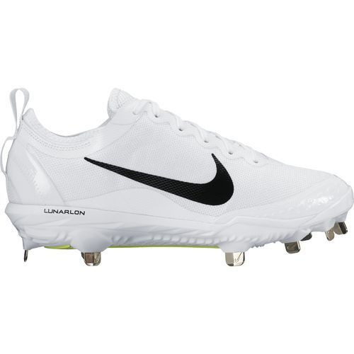 Nike Womens Cleats Black White Size 6