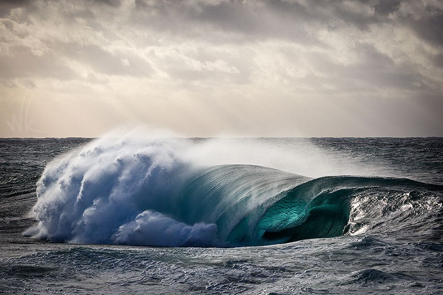"""Ocean Light"" ""Nautilus"" by Australian Ocean Photographer WARREN KEELAN 