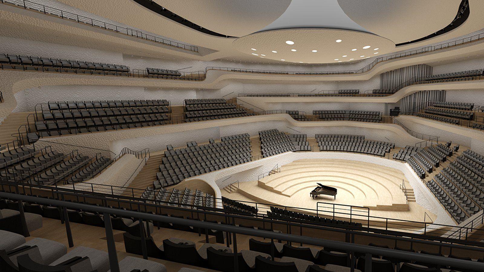 Elbphilharmonie Hall In Germany Has Perfect Acoustics Architecture Algorithm Design Architecture Design