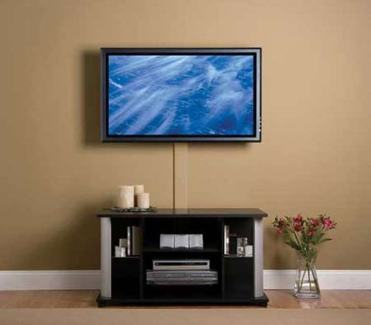 Ideas Para Esconder Los Cables De La Tv Tv Montado En Pared Pared Tv Moderna Montaje De Tv