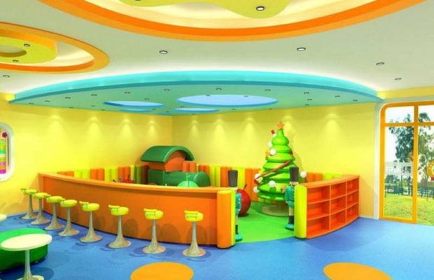 Picture of Playground design for Preschool Classroom Interior ...