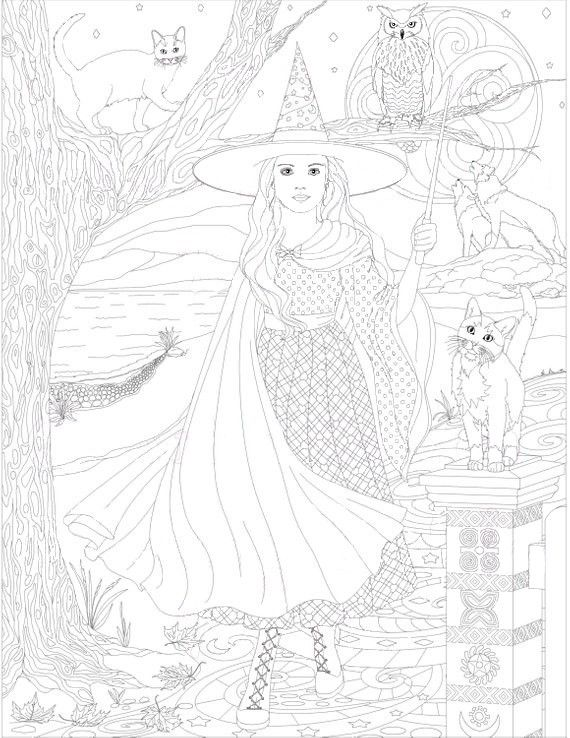 Pin by sue ann on adult coloring 3 | Adult coloring ...