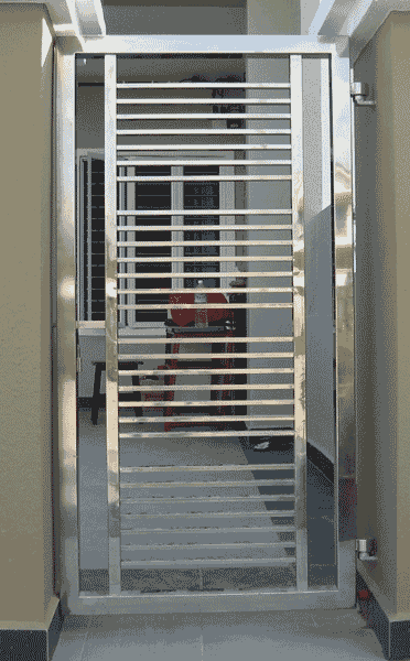 Stainless Steel Continental Custom Iron Gate1 In 2019