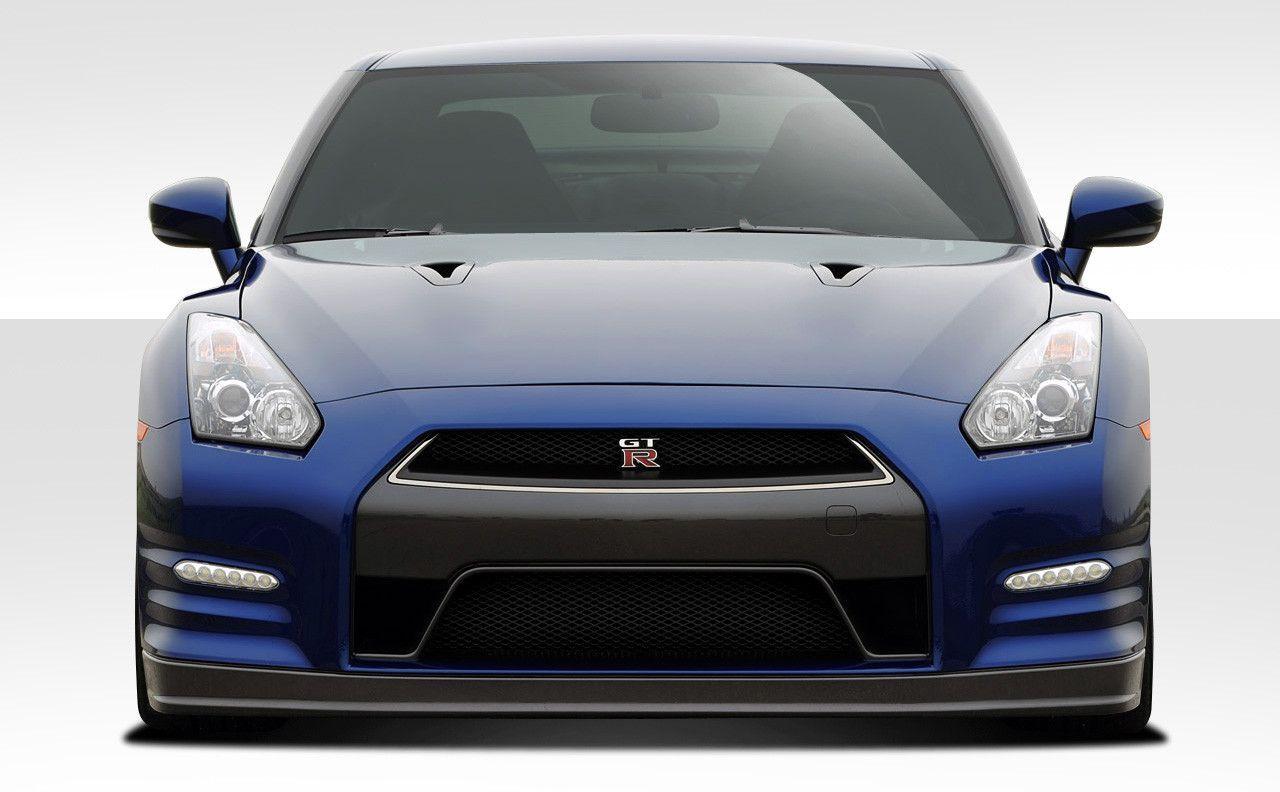 2009-2015 Nissan GT-R R35 Duraflex OEM Facelift Conversion Front Bumper Cover - 1 Piece