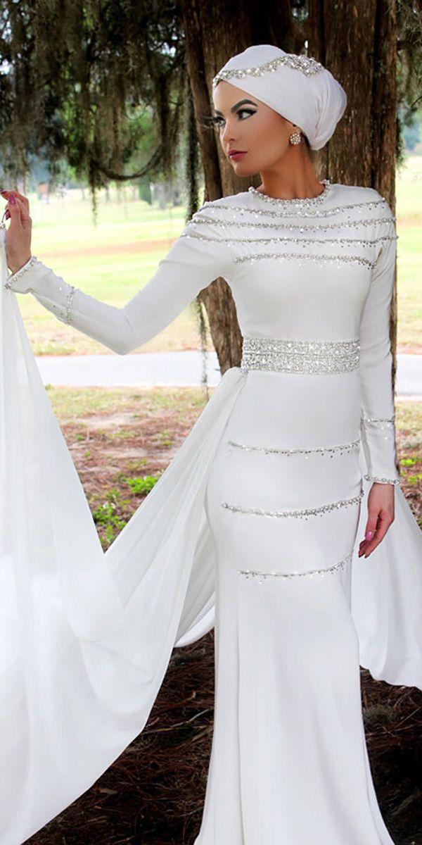 60 Trendy Wedding Dresses For 2020 Muslim Wedding Dresses Hijab