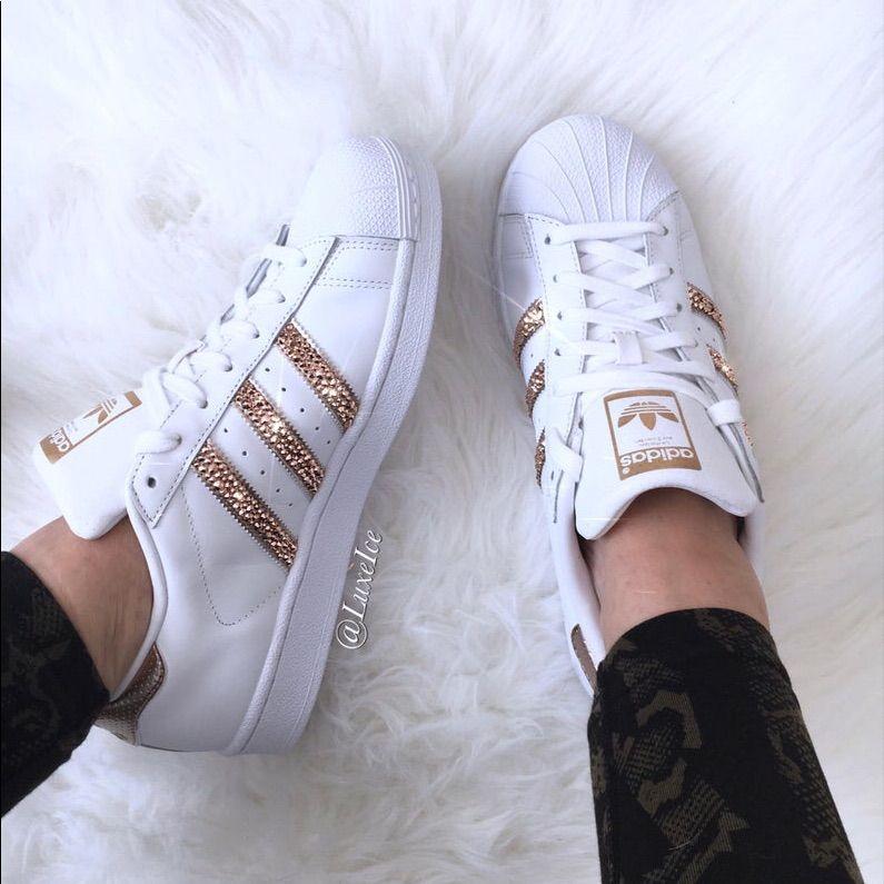 Adidas | Adidas shoes women, Rose gold adidas shoes, Adidas