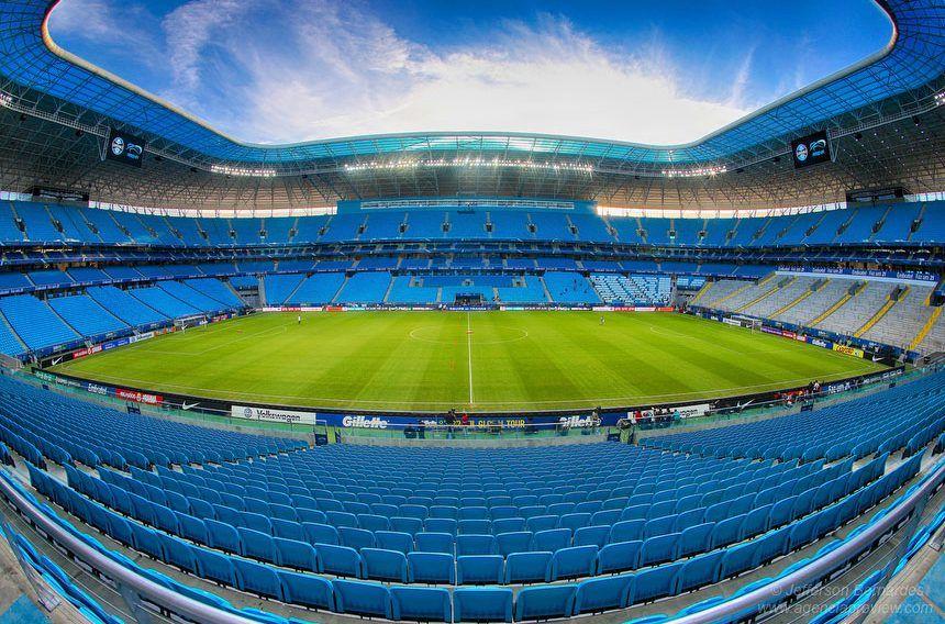 Vista Interna Da Arena Do Gremio Arena Do Gremio Futebol Clube Do Porto Gremio Wallpaper