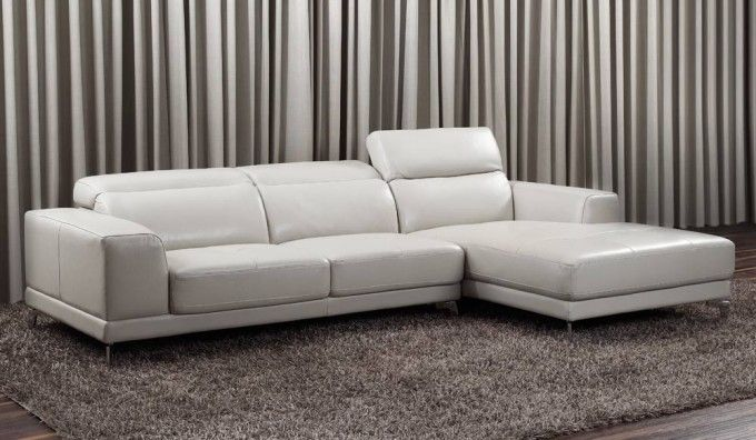 Lorenzo Leather Corner Sofa