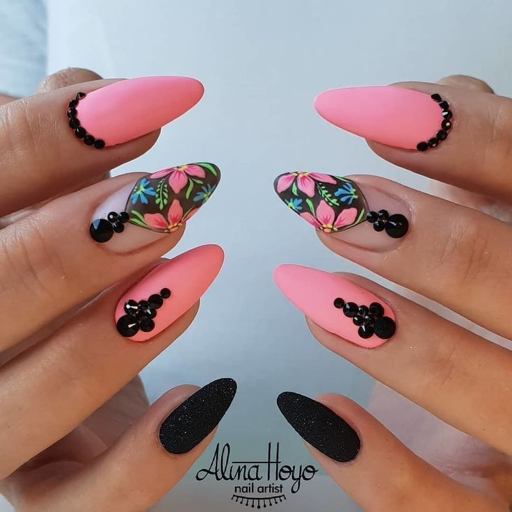 Stunning design! | colored nails | Nail art designs, Nails ...