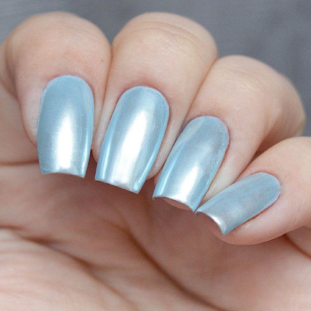 Diamond Nail Art Pearl Mermaid Powder | Nail design | Pinterest ...