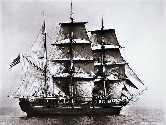 """Charles W. Morgan"" was a US Whaling Ship during the 19th ..."