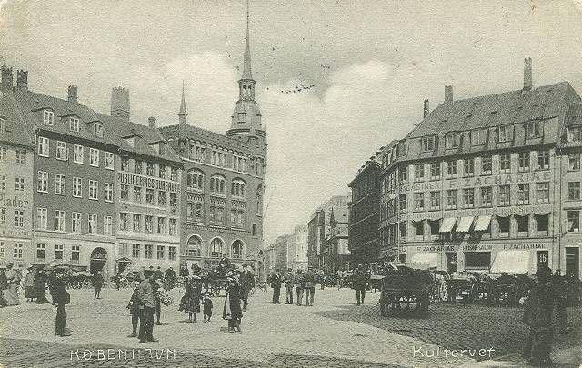 This is the same as now. Kultorvet 1905