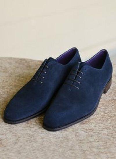 Blue suede shoes, Dress shoes