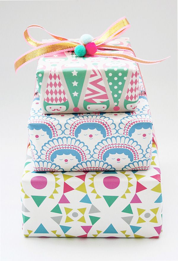 polkaros wrapping paper nice and cute! please check out our website. http://bax.fi