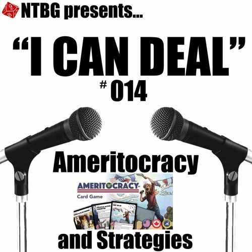 Adam and CJ are joined by Shane to talk about the game he helped design, Ameritocracy. Currently on Kickstarter, hear about the game, some of the the insight behind it, and the process of running a Kickstarter.