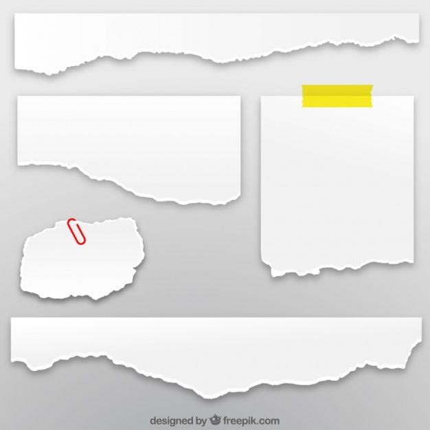 Download Collection Of Torn Paper Sheets For Free Torn Paper Crumpled Paper Textures Paper Texture