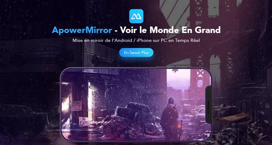 Apowermirror Iphone Smartphone Android