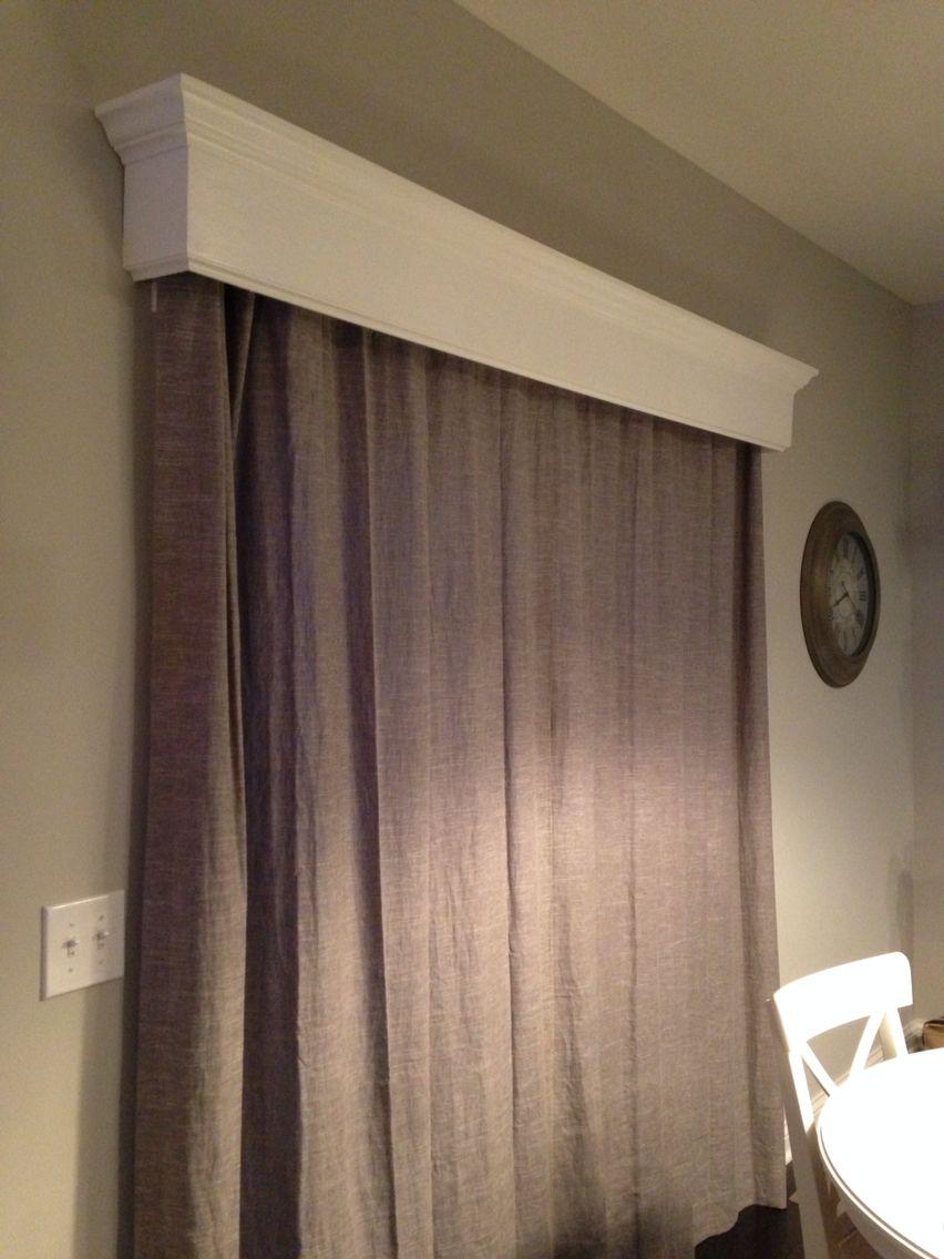 Cornice Board For Sliding Glass Door Window Treatments Living