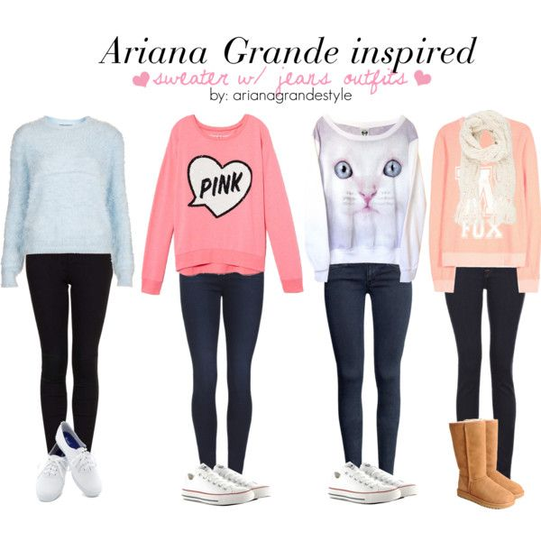 Ariana Grande Inspired Outfits By Arianagrandestyle (dresslikearianaa On Polyvore)   Jazzys ...