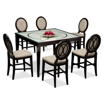 Cosmo Ii Dining Room 7 Pccounterheight Dining Room  Value City Cool City Furniture Dining Room Design Decoration