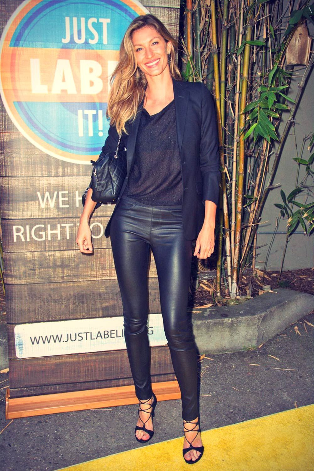 gisele bundchen attends conceal or reveal campaign launch