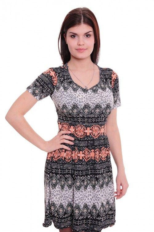 Платье А4759 Размеры: 42-50 Цена: 525 руб.  http://optom24.ru/plate-a4759/  #одежда #женщинам #платья #оптом24