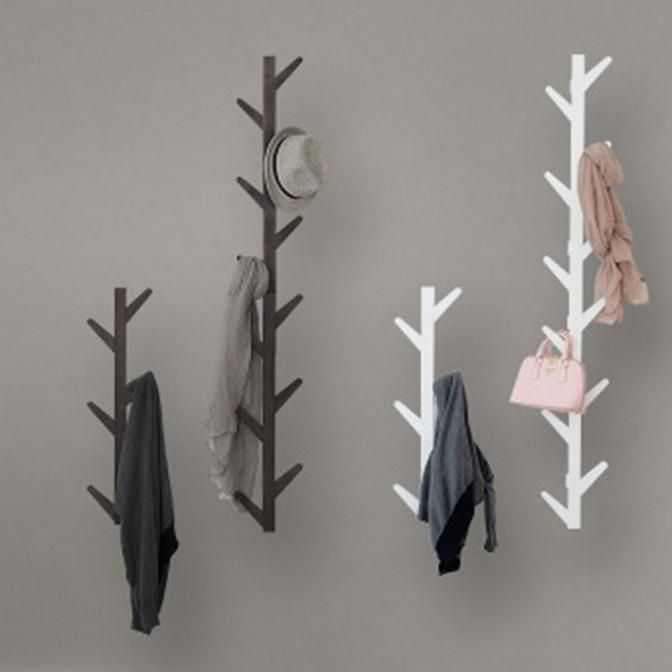 Wall Coat Rack In 2020 Coat Rack Wall Clothes Tree Wall Hanger