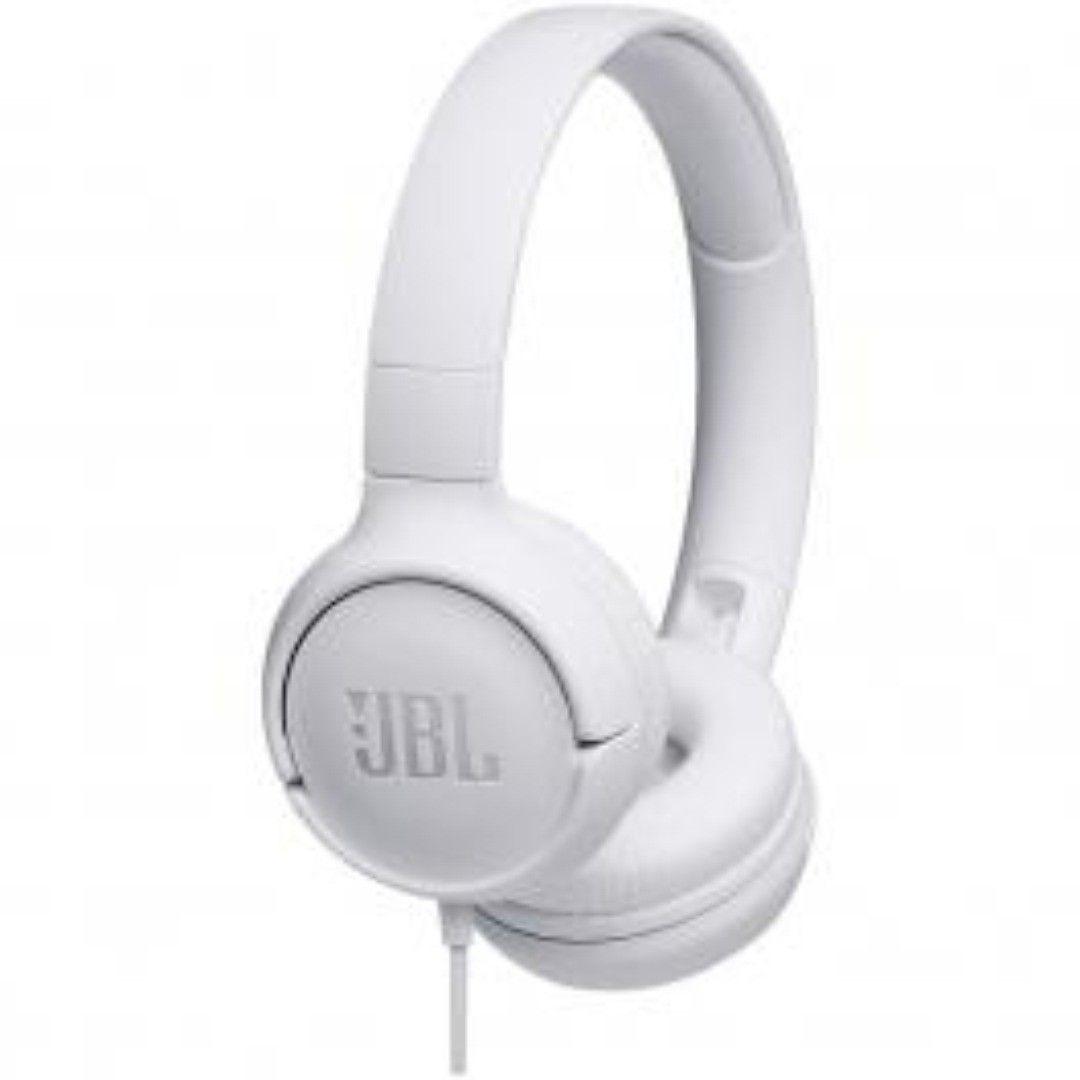 Fone De Ouvido Jbl Com Microfone Branco T500wht Para Comprar
