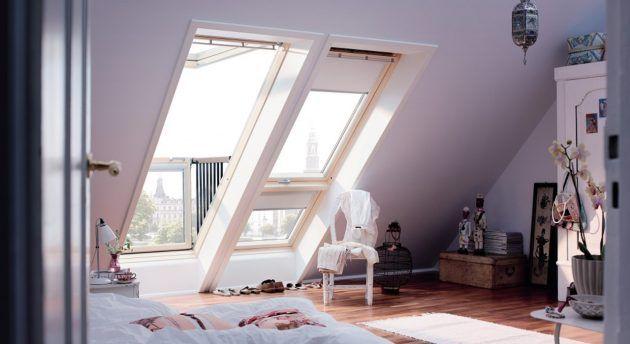Inspirationen Zum Innenausbau Des Dachgeschosses * Kleine ... Schlafzimmer Unter Dem Dach