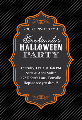 spooktacular halloween party printable invitation template