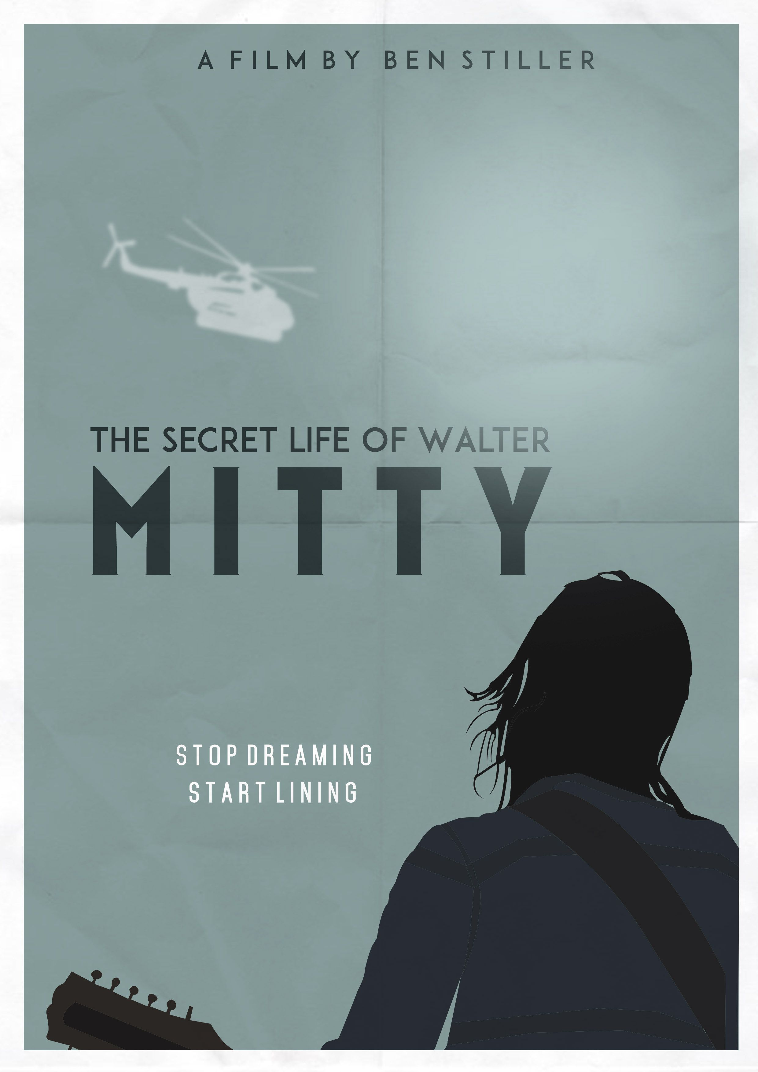 The Secret Life Of Walter Mitty Minimalist Poster Comedy Life