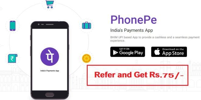 Phonepe Offers Send Money Get CashBacks paybyphone