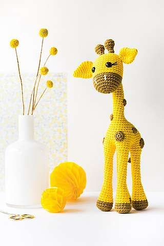 Amigurumis häkeln: Diana, Die Giraffe