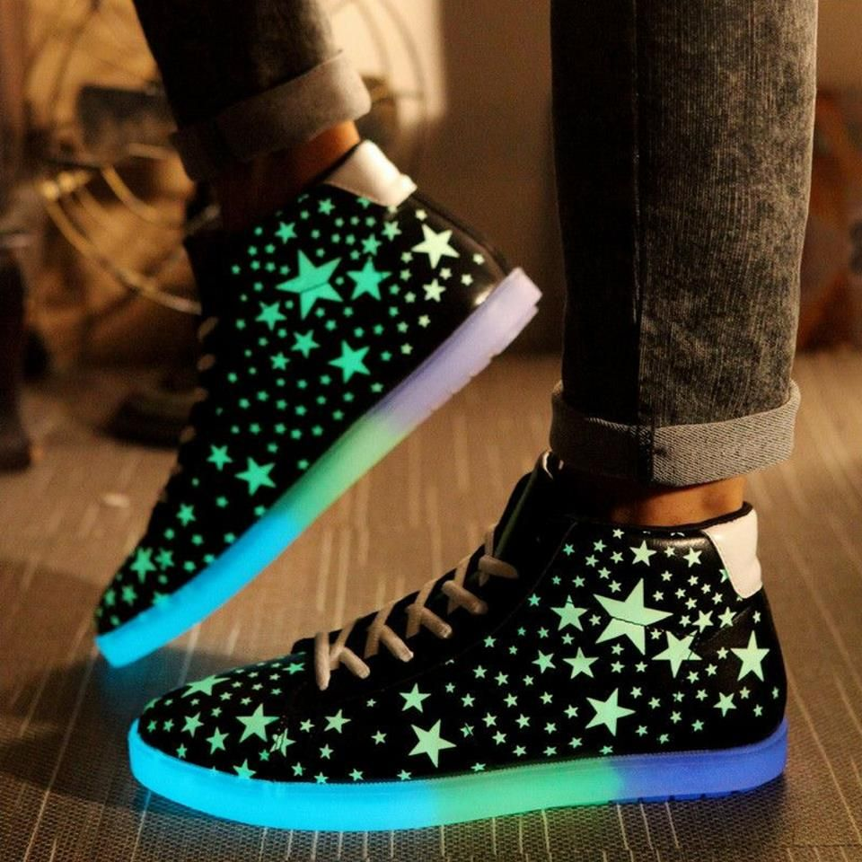 LED shoes. I believe I need a pair of these.  8f86192957