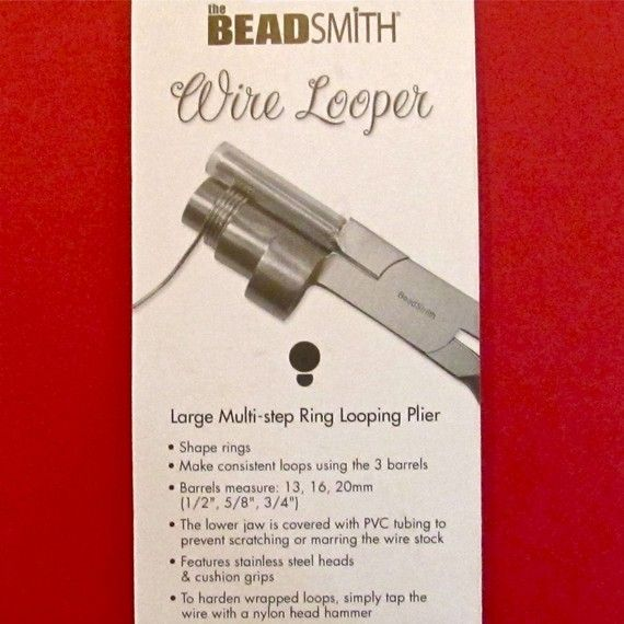 Wrap 'n Tap Ring Making or Loop Making Pliers  by gottagettadeal, $22.00