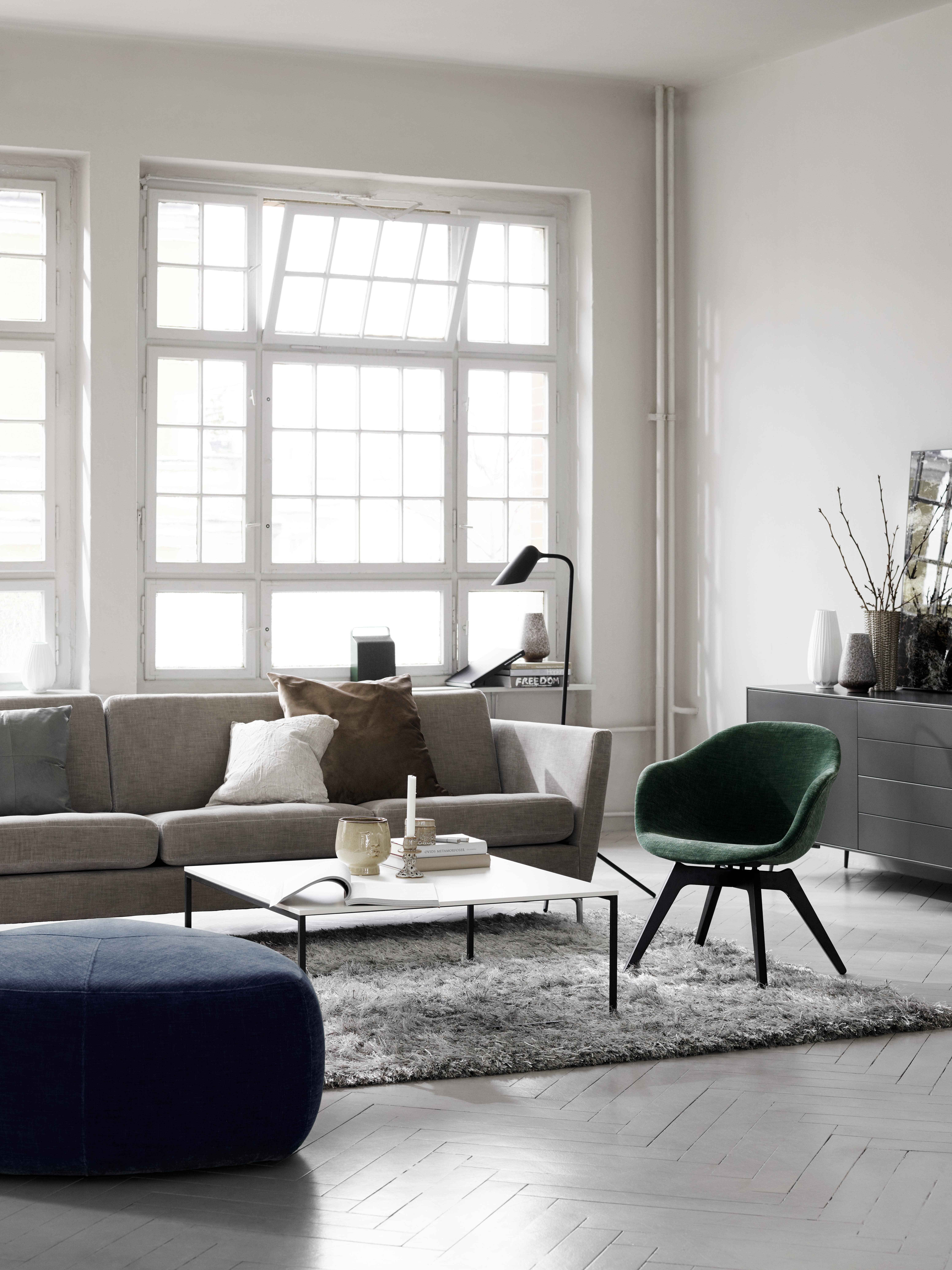 Skandinavisches Design In Seiner Schönsten Form: Unser Osaka Sofa In  Kombination Mit Dem Adelaide Lounge Design