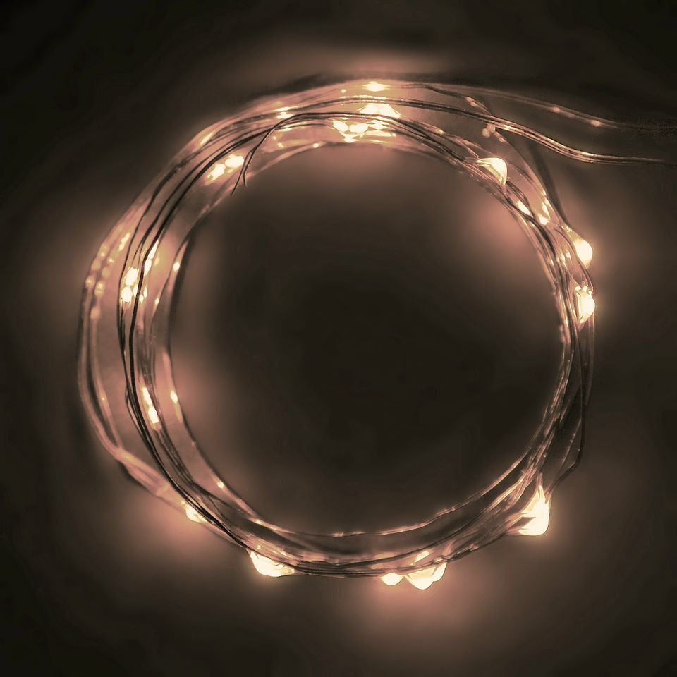 20 battery operated warm white micro led lights on 7ft long ultra awesome rtgs micro led 30 super bright warm white color indoor and outdoor string lights battery operated on 10 ft long green color ultra thin string wire aloadofball Gallery