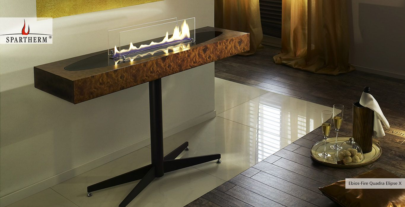 Ebios fire quadra elipse x ebios fire entryway entryway tables i home decor for Marco cassol stufe
