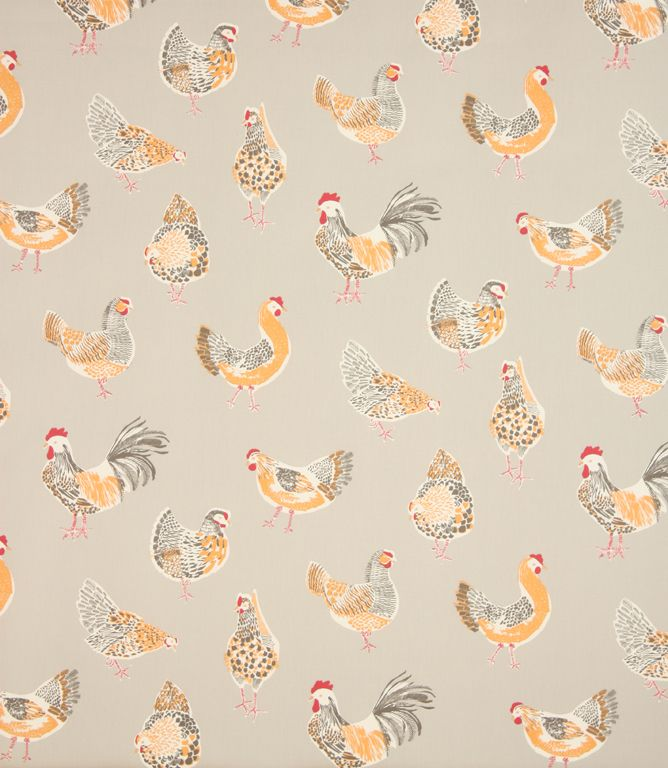 Great Fabric For A Country Style Kitchen Available In A