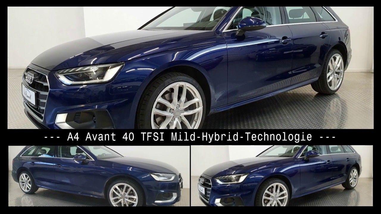 Audi A4 40 Tfsi Avant Mild Hybrid Technologie In 2020 Audi A4 Audi A4 Avant