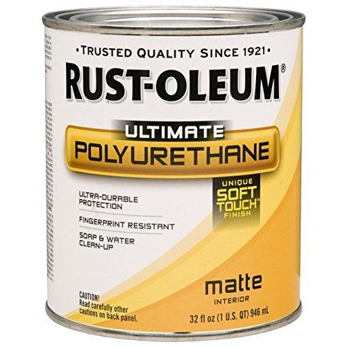 Rust Oleum Varathane 200261h 1 X2f 2 Pint Interior Crystal Clear Water Based Polyurethane Water Based Satin Finish Staining Wood Rustoleum Wood Care