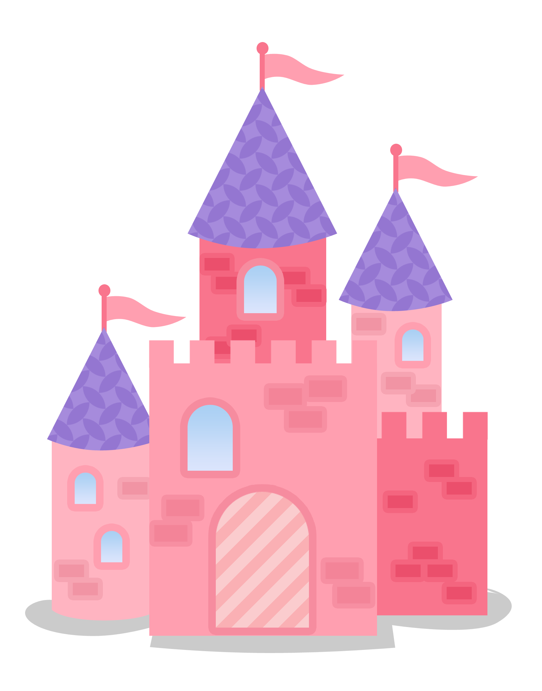 Snow White - LittleFairyTalePrincess-Castle2.png - Minus | clipart ...