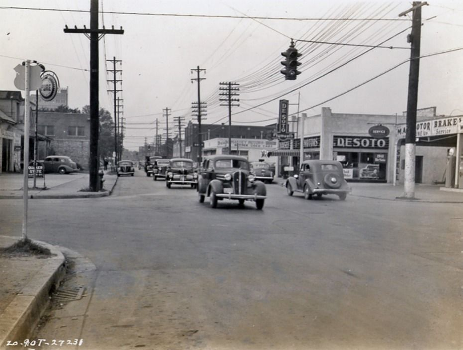 gateway shopping center beaumont texas 1950s - Google Search   South